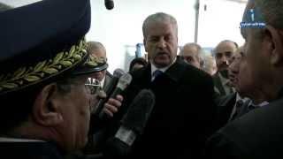 زيارة الوزير الأول عبد المالك سلال إلى ولاية أم البواقي