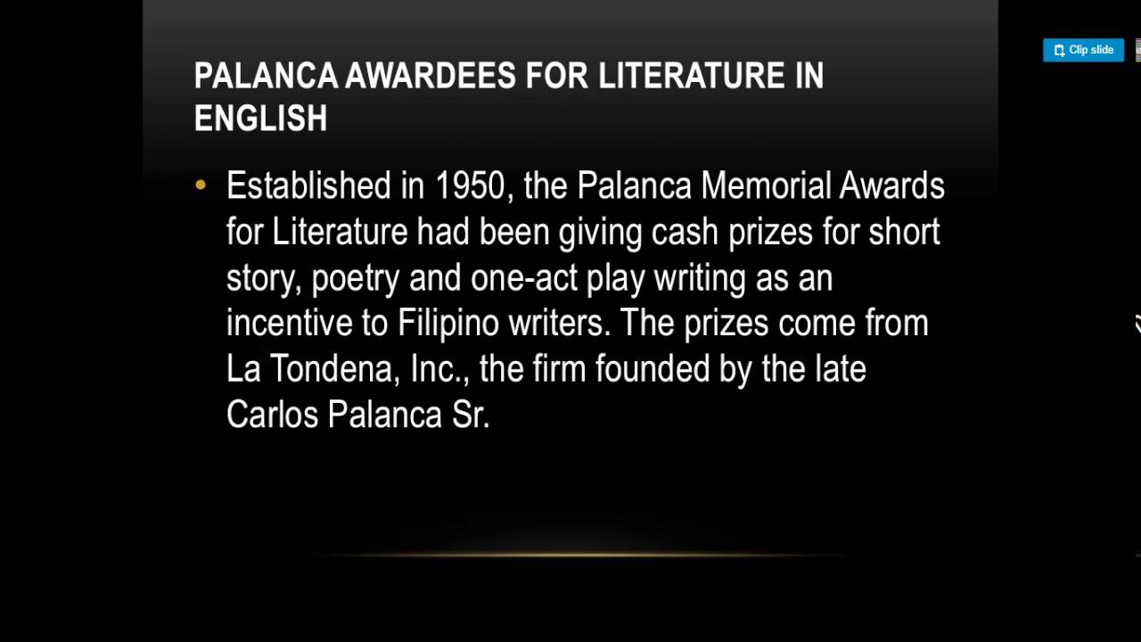 short story written by filipino writers