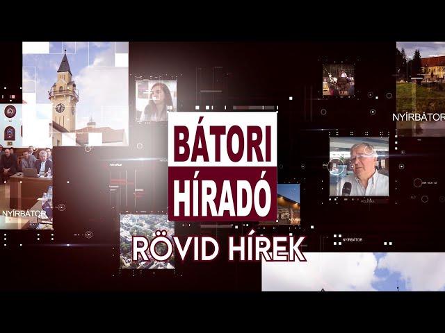Bátori Híradó - Rövid hírek 2020.03.13.
