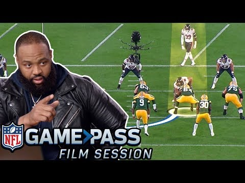 Akiem Hicks Breaks Down How to Make O-Linemen Look SILLY | NFL Film Session