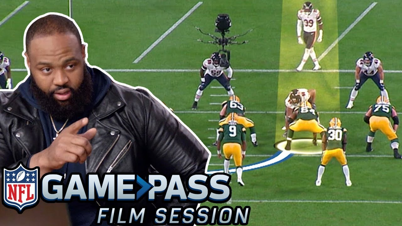 Download Akiem Hicks Breaks Down How to Make O-Linemen Look SILLY | NFL Film Session