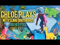 DINOSAURS and SLIME in PADDLING POOL | Curly Chloe