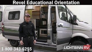 LichtsinnRV.com - Updated Winnebago Revel Educational Orientation & Walk Through