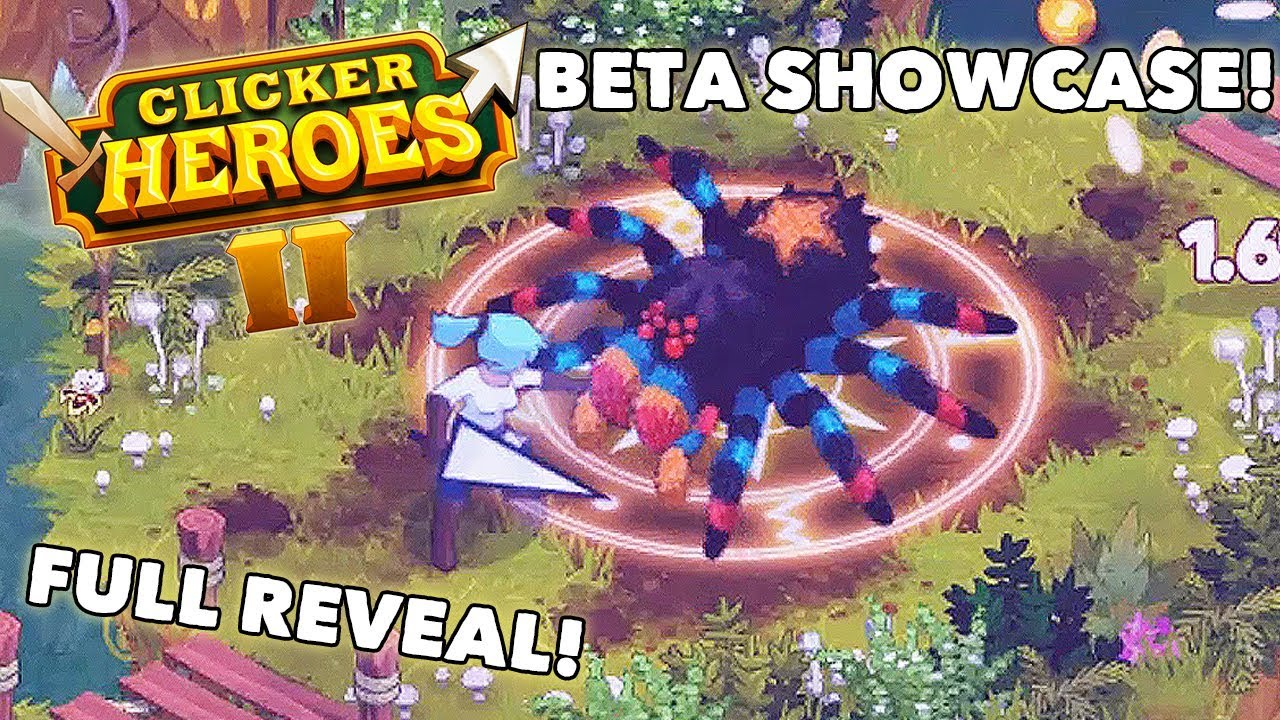 Clicker Heroes 2 Beta Showcase Video! - Clicker Heroes 2 Gameplay Reveal -  GPV247