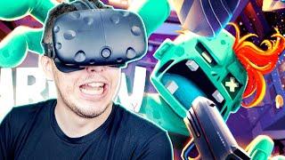 O JUQUINHA VIROU ZUMBI EM REALIDADE VIRTUAL | Throw Anything VR #03