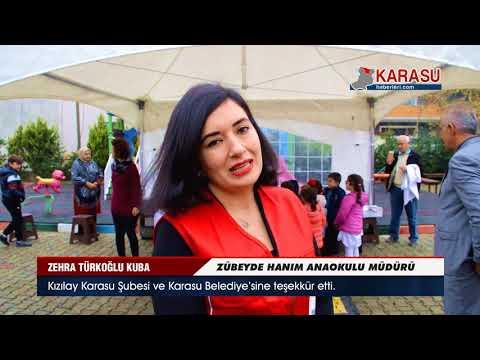Zübeyde Hanım Anaokulu Kızılay haftası