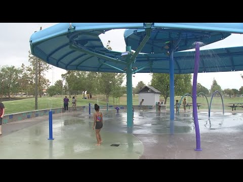 VIDEO: Tempe's newest splash pad opens at Kiwanis Park