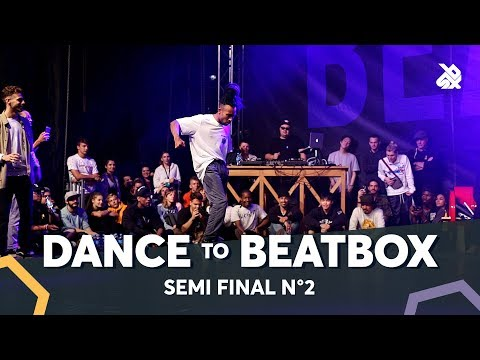 DYLAN MAYORAL vs KENZO ALVARES f MAD TWINZ & DHARNI  Dance Battle To The Beatbox 2018  SEMI Final