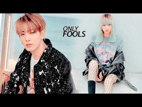 lisa + jungkook / fools
