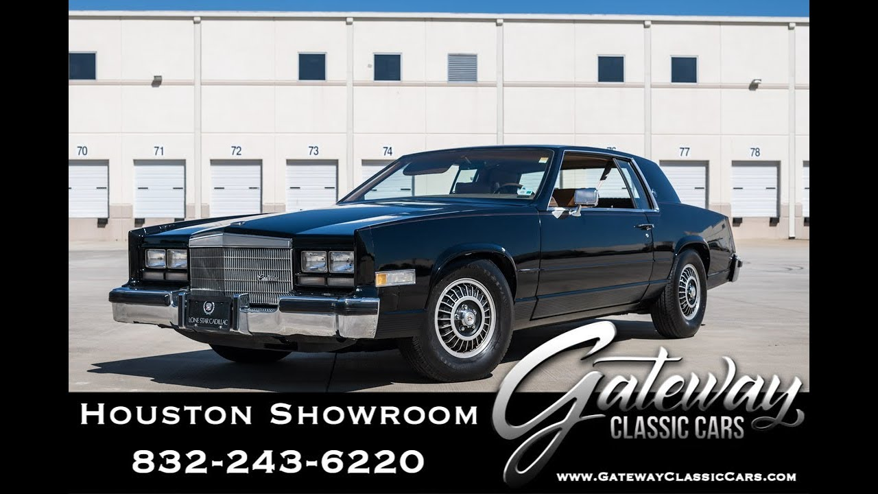 1983 cadillac eldorado 1478 gateway classic cars houston youtube 1983 cadillac eldorado 1478 gateway classic cars houston