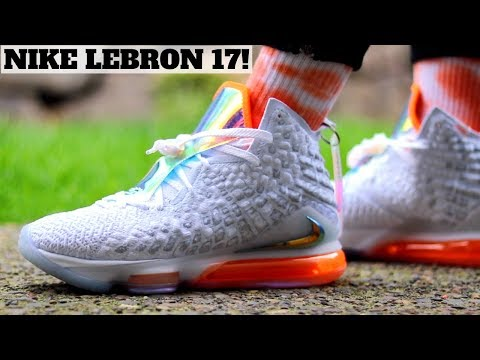Worth Buying? NIKE LEBRON 17 'FUTURE AIR' Review & On Feet!