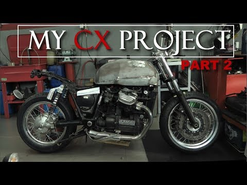 Cafe Racer (Honda CX 500/ CX 650 by RACER TV) Part 2