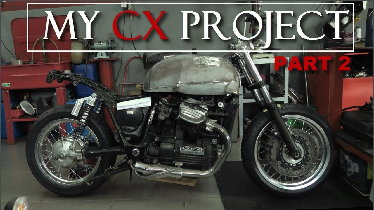 Cafe Racer Honda CX 500 650 By RACER TV Part 2