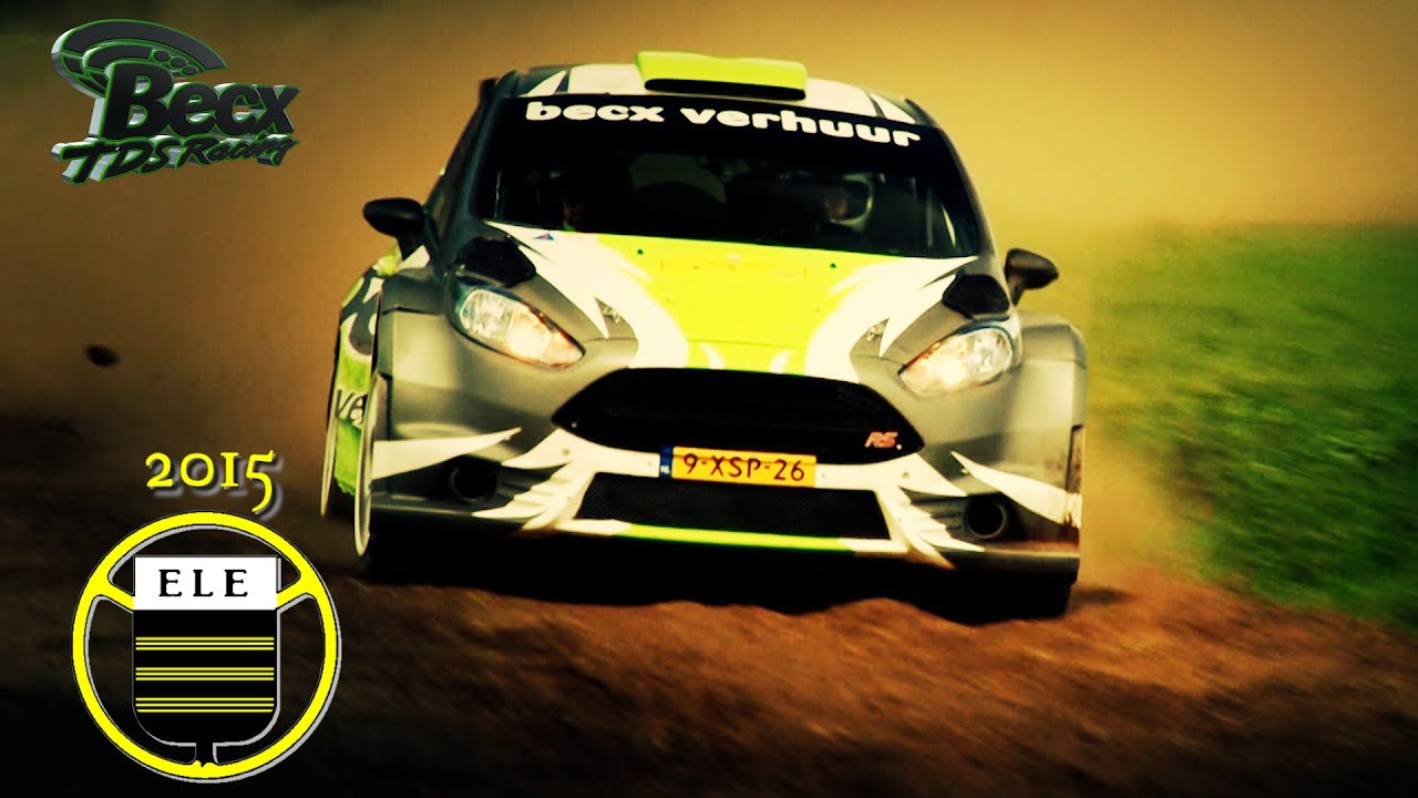 Ford Garage Eindhoven : Becx tds racing ele rally eindhoven ford fiesta r youtube