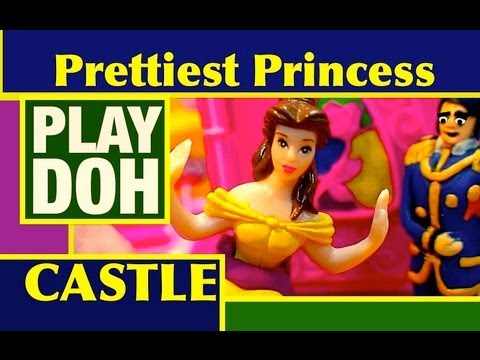 Play-Doh Disney Prettiest Princess Castle 2012 Girls Toy Review by Mike Mozart of TheToyChannel