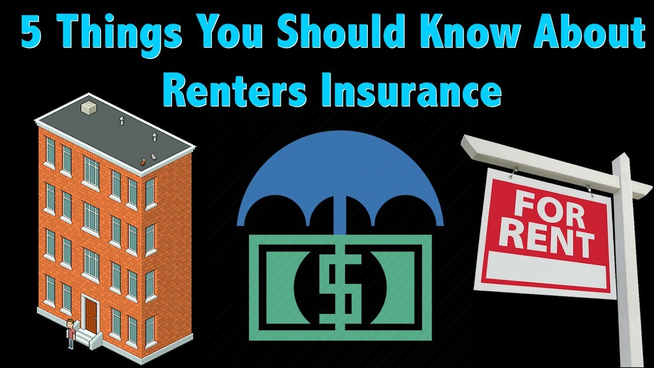 5 Things to Know About Renters Insurance - YouTube