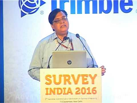 Shri Vishnu Chandra, DDG & Group Head – RS & GIS, NIC @ Survey India 2016