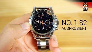 No. 1 S2 Hands On– 50€ Smartwatch aus China [deutsch]