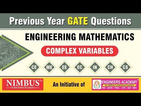 Previous Year GATE Questions   Engineering Mathematics   Complex Variables   Qns- 46