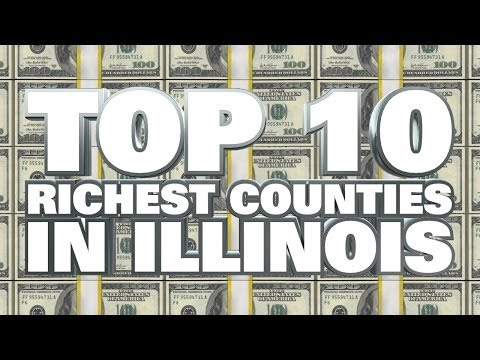 10 Richest Counties in Illinois 2014