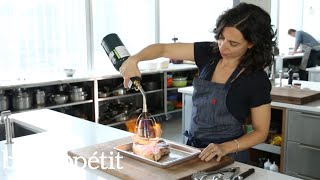 Using a Searzall Torch to Sear Steak | Bon Appétit