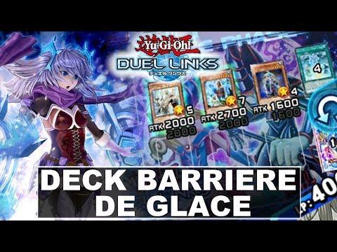 Deck Barrière de Glace   Yu-Gi-Oh Duel Links