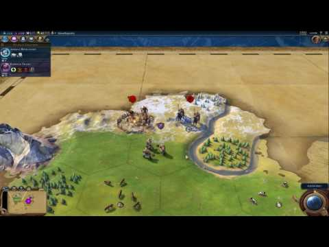 Civilization VI: First Look - Rome - Inland Sea - Prince - Tiny - Part 1