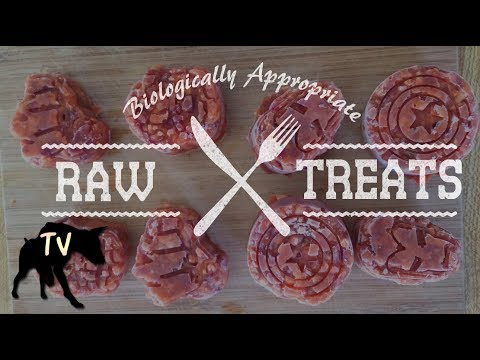 Raw Dog Treat Recipe #1  Sweet Potato, Carrots, Beef Liver, CBD Oil, Kefir, & Egg