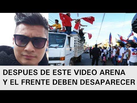 PORQUE EL SALVADOR ESTA JODIDO MI VIAJE A POLONIA REFLEXION ARENA Y EL FRENTE DEBEN DESAPARECER