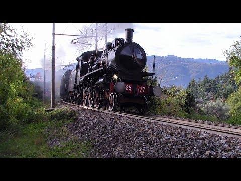 Treni a vapore per la valtellina 2017