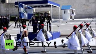 Greece: Athens marks Independence Day with massive military parade