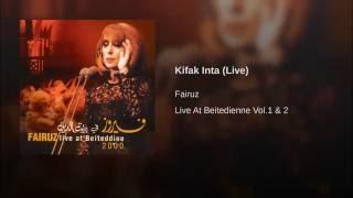 Kifak Inta (Live)