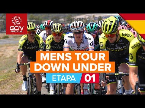 Santos Tour Down Under 2020    1º Etapa DESTACADOS   Ziptrack  Etapa 1 Tanunda