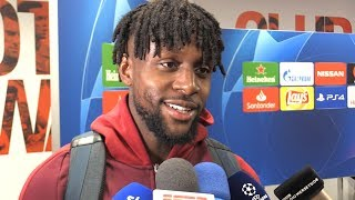 Interview with liverpool striker divock origi after his two goals helped to a 4-0 win over barcelonaplease subscribe, like the video and share wher...