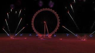 |HD| London New Years Eve 2014 - Fwsim thumbnail