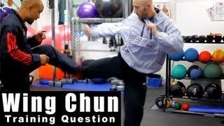 Wing Chun training - wing chun how to control distance. Q10