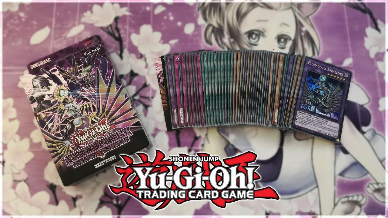 Yu-Gi-Oh TCG Shaddoll Showdown Structure Deck