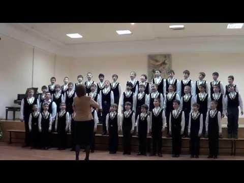 Владикавказский муниципальный хор мальчиков.