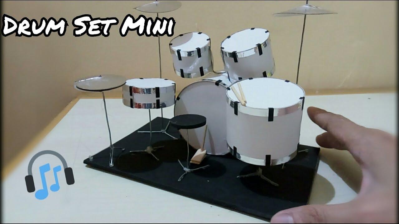 Cara Membuat Drum Set Mini On Creation Youtube