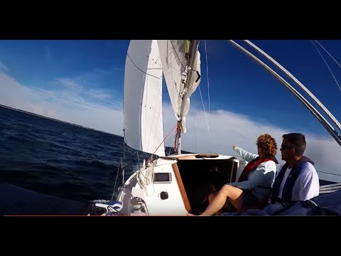 Five days cruising on a Catalina 22, in northwest Florida