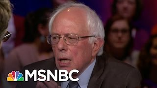 Bernie Sanders: US Has A Voting Rights Crisis | Democratic Forum | MSNBC
