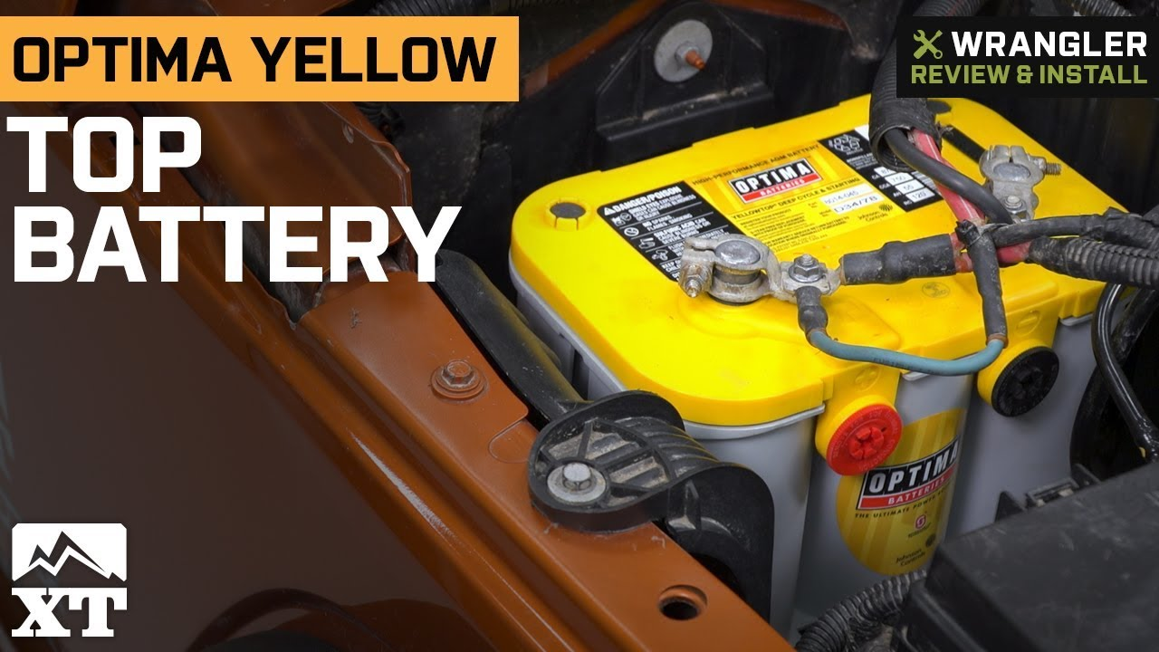 Jeep Wrangler Optima Yellow Top Battery 1987 2017 Yj Tj Jk Review Install