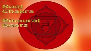 ROOT CHAKRA ACTIVATION - Binaural Beats, Subliminal Meditation Music | Root Chakra Healing