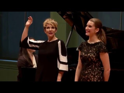 "Joyce DiDonato Master Class 2015: Handel's ""Ombra mai fu"" from Serse"