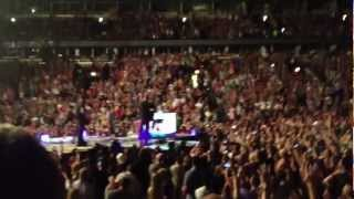 Coldplay live: response to fan request for Amsterdam. Chicago 8/7/12