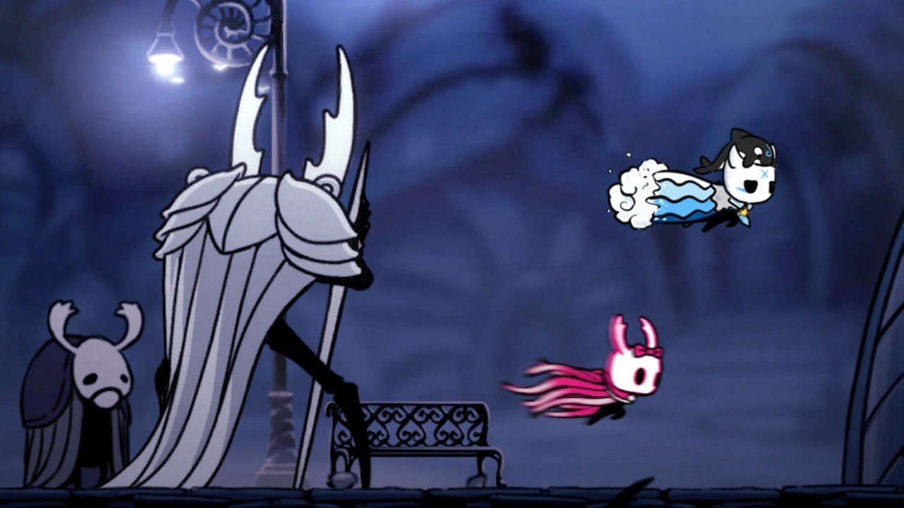 Speedrunners vs. Chat – Hollow Knight Online Multiworld Co-op