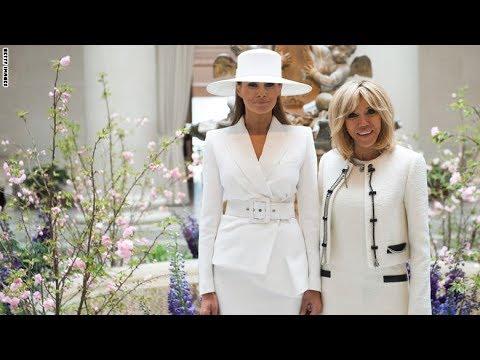 حرب أزياء حادة بين ميلانيا ترامب وبريجيت ماكرون.. من الأجمل؟  - نشر قبل 2 ساعة