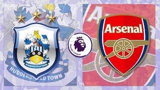 Match Day LIVE 2017/18 // Huddersfield Town v Arsenal - Premier League