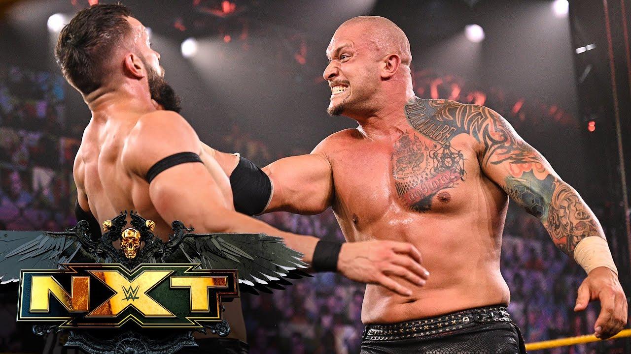 Karrion Kross w/Scarlett vs. Finn Bálor – NXT Title Match: WWE NXT, May 25, 2021