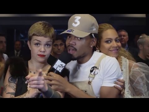 Beyonce CRASHES Chance The Rapper's Interview At The 2016 MTV VMAs